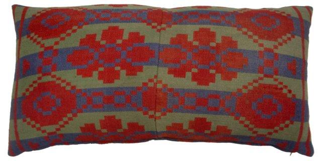 Kilim Textile Fragment  Pillow