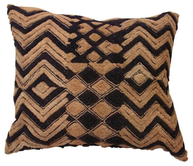 Patchwork Kuba Cloth    Pillow