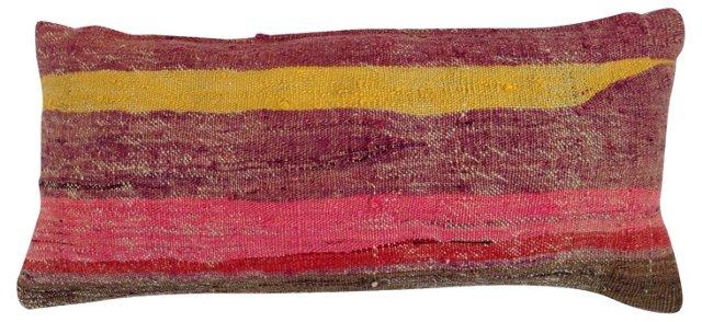 Striped Camel Sack Pillow