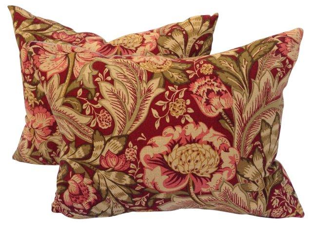 English Islington Pillows, Pair