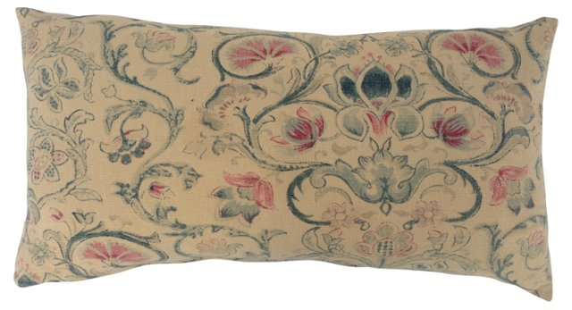 Ralph Lauren Floral Textile   Pillow