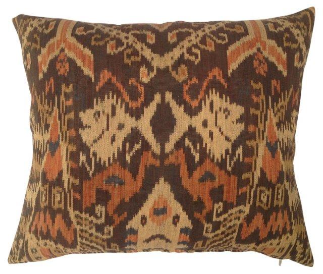 Tribal  Ikat  Pillow