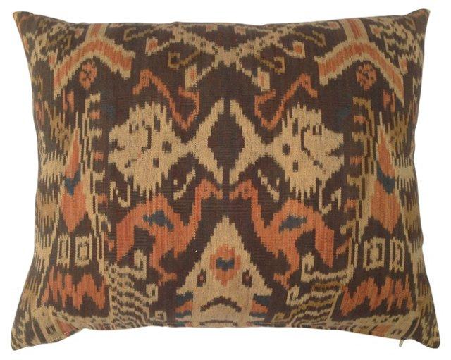 Ikat Tribal Pillow