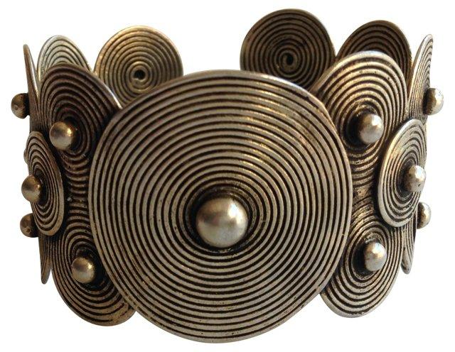 Tribal   Disc Metal Cuff