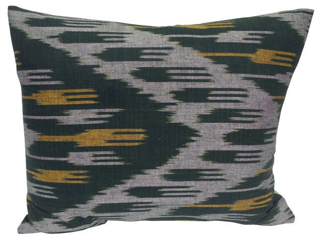 Ikat Silk  Pillow