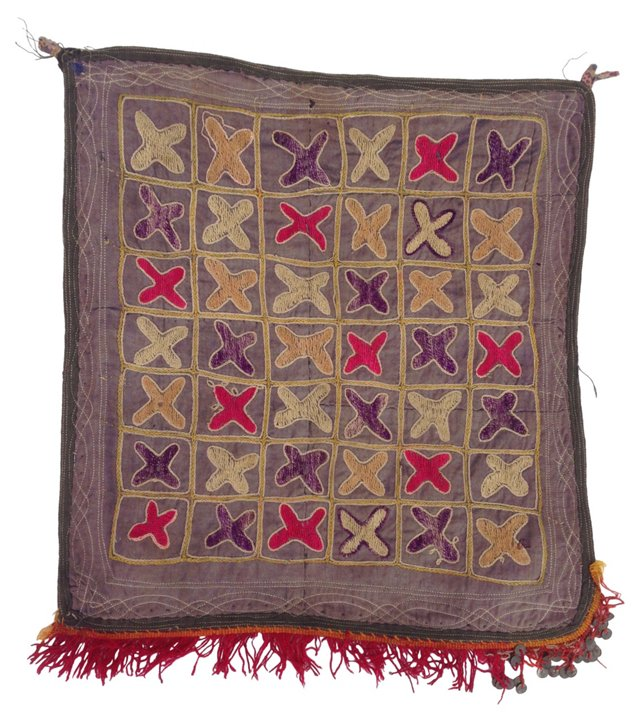 Embroidered Vintage Turkish Textile