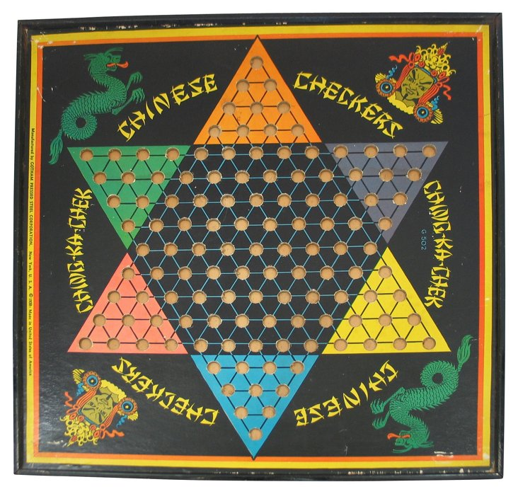 Chinese Checkerboard