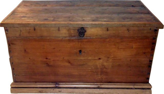 Early-19th-C. American Chest