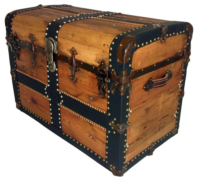 Antique Monitor-Top Trunk