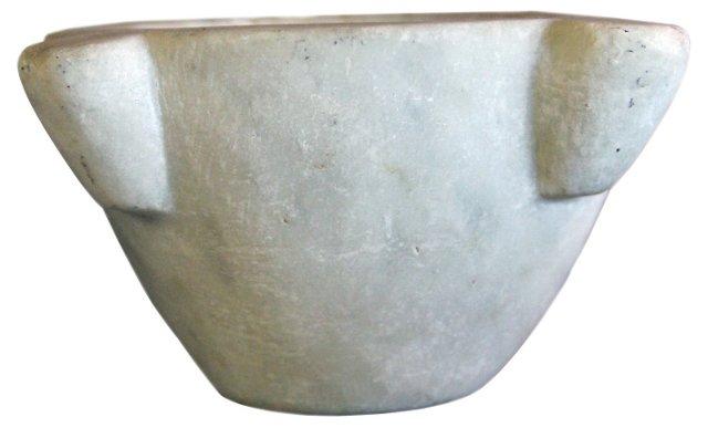Antique Alabaster German Bowl
