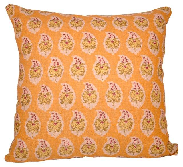 Printed Paisley Pillow