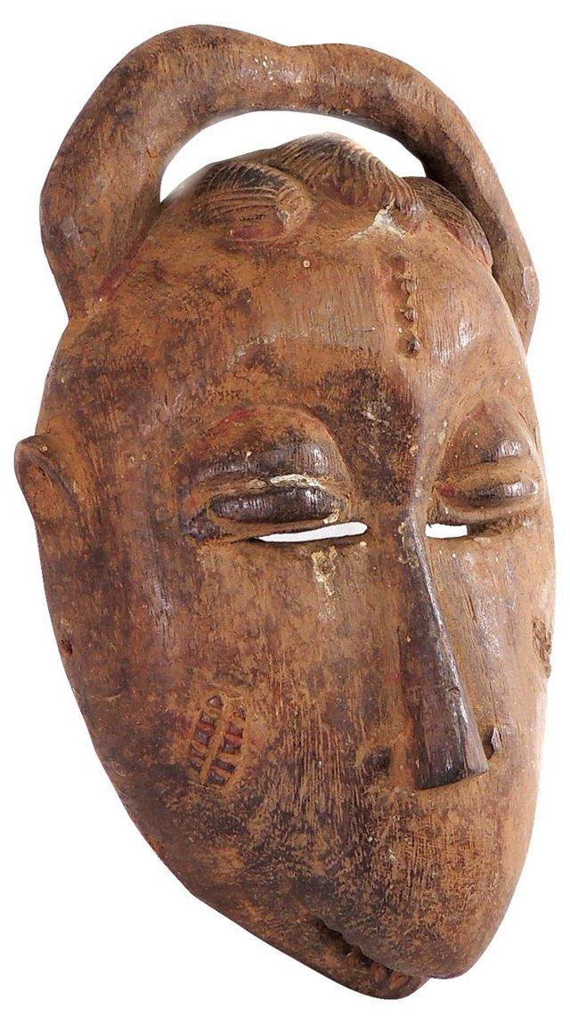 Baule Mask w/ Horns