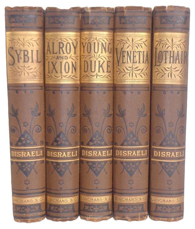 Disraeli Classics, Set of 5
