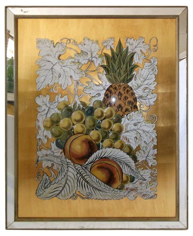 Reverse-Painted Mirror, 1965