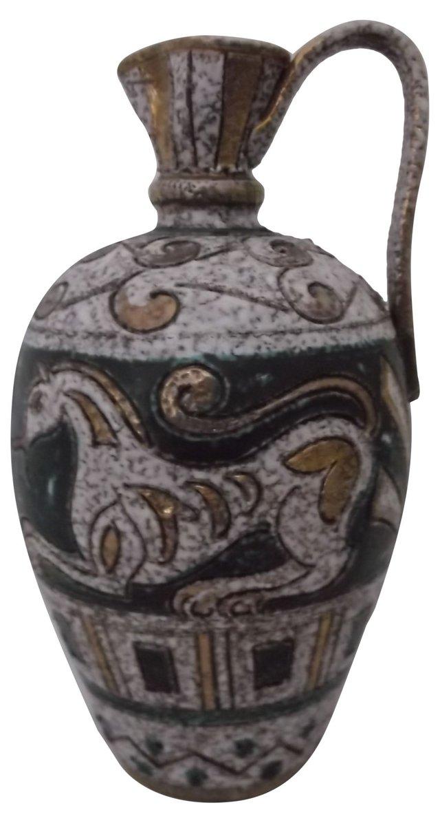 Italian Ceramic Elbee Pitcher