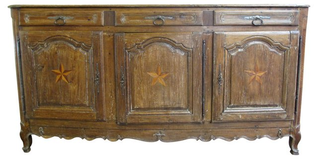 18th-C. French Buffet