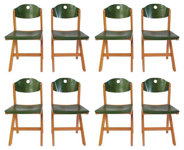 Chairs by Baumann, S/8