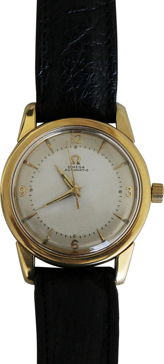 Omega 18K Gold Automatic Watch