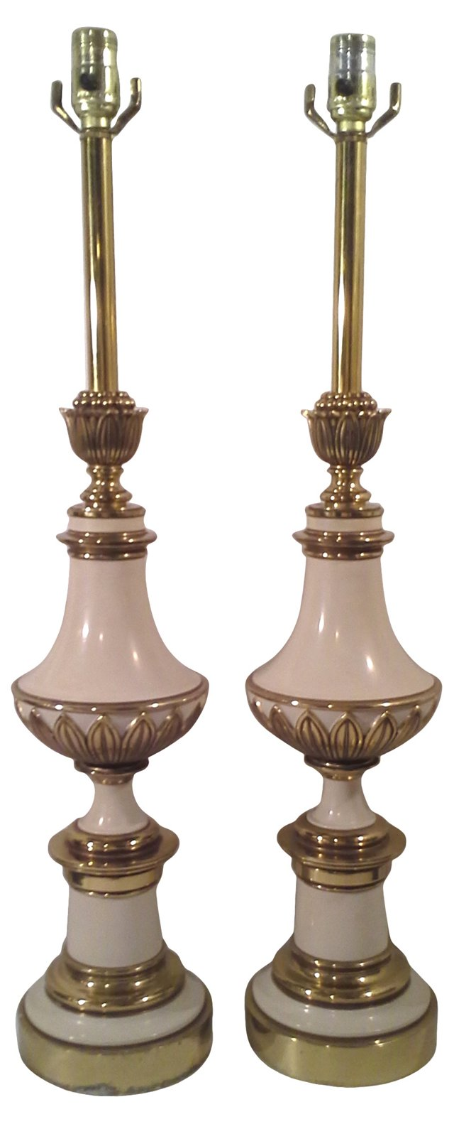 Stiffel Lamps, Pair