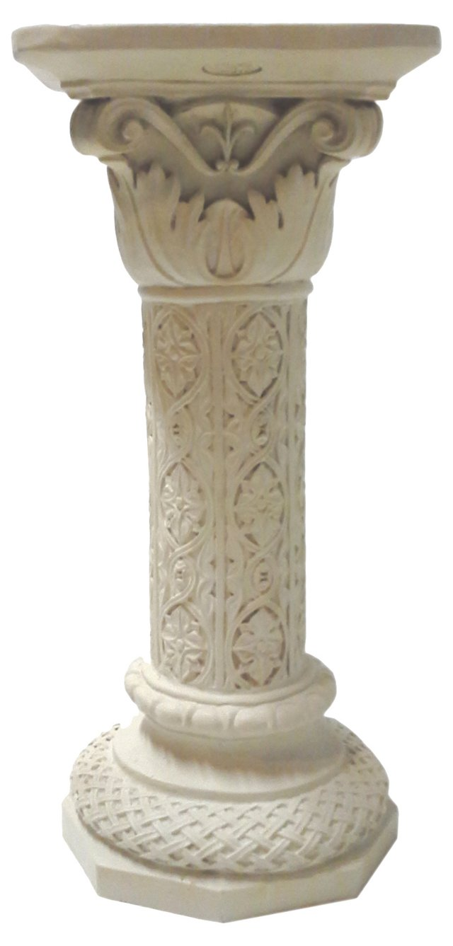 Architectural Pedestal Plant Stand