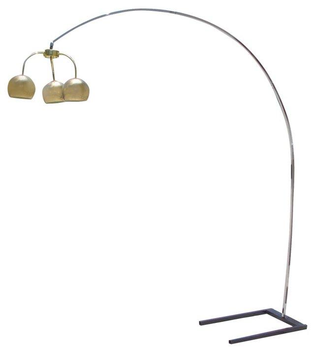 1960s Italian Arco Floor Lamp