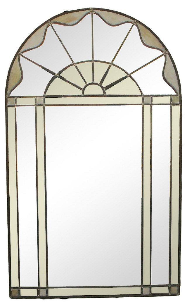 Glass Arch Mirror