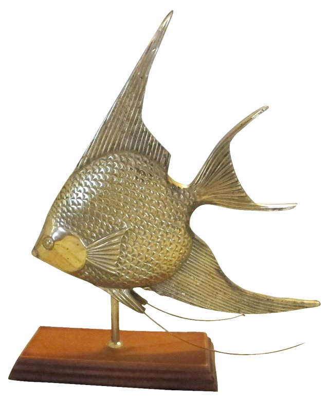 Detailed Fish On Stand