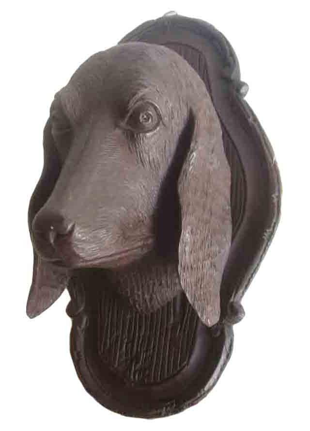 Black Forest Dog Head Wall Pocket