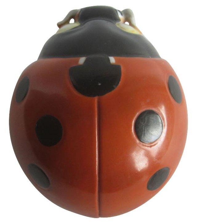 Porcelain Ladybug Wall Pocket