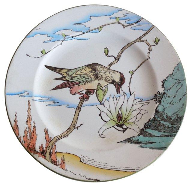 Minton  Bird Wall Plate