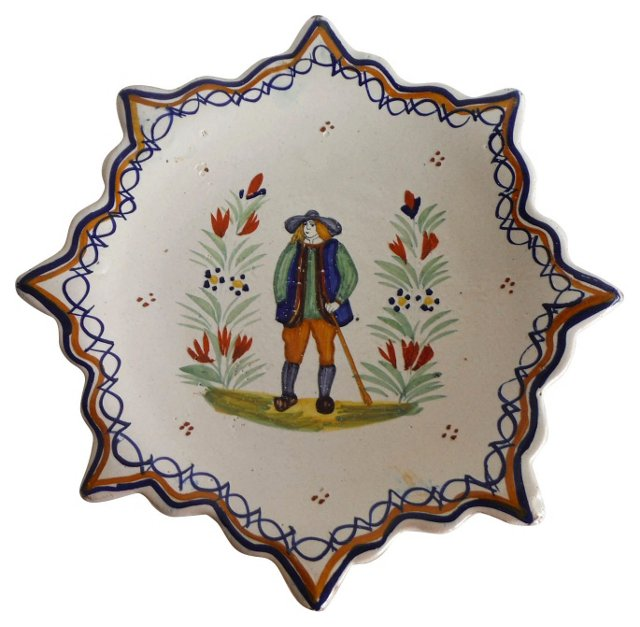 Quimper         Wall Plate