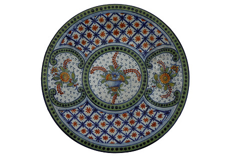 French Saint Clement Wall Platter