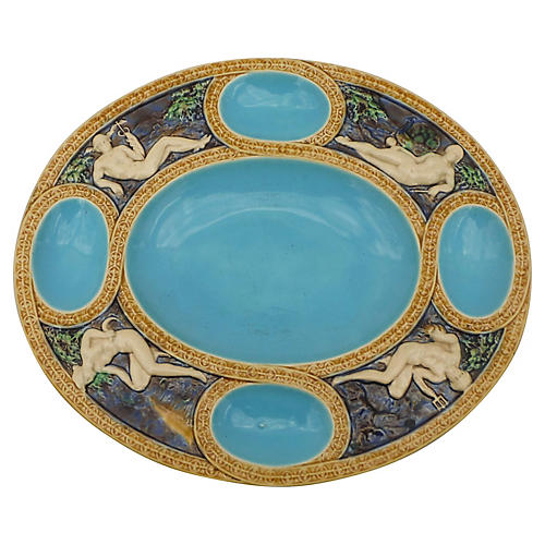 Majolica Minton Mythological Platter