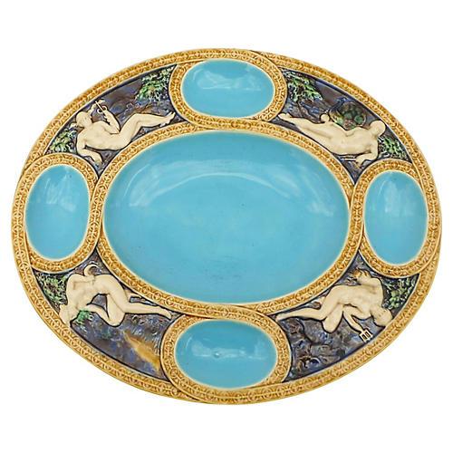 Majolica Minton Mythological Platter