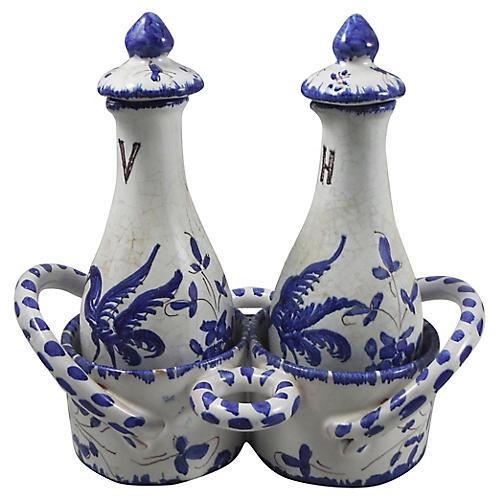 French Oil & Vinegar Set
