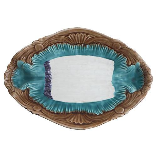 Majolica Asparagus Platter