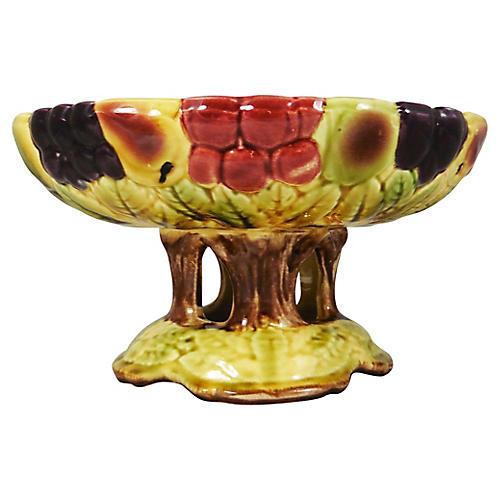 Majolica Fruit Centerpiece