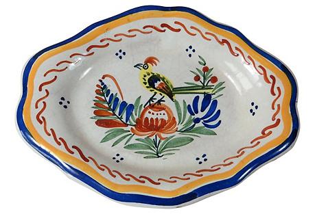 Bird Wall Platter