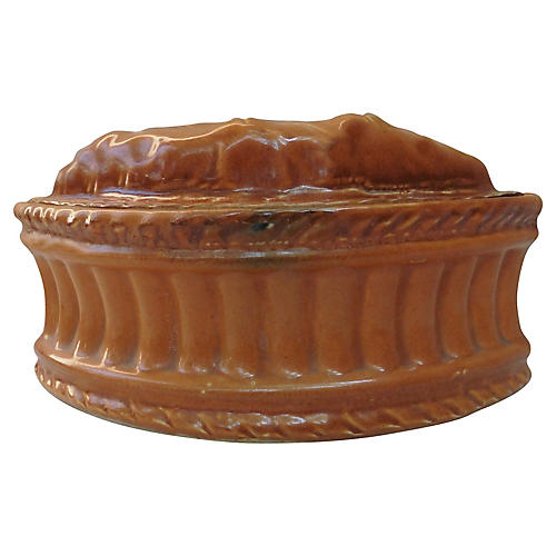French Porcelain Leaf Tureen