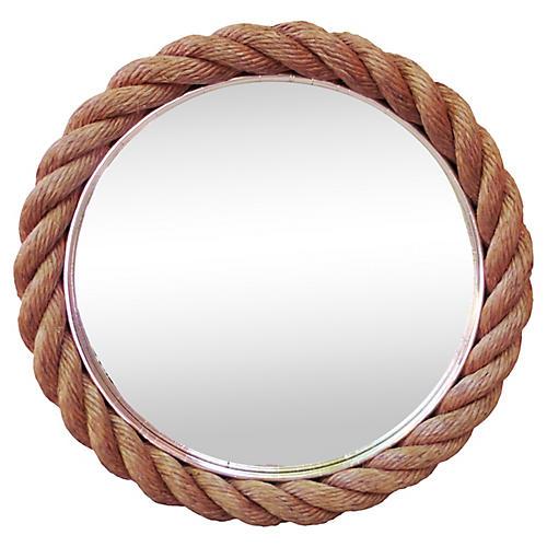 Round Rope Mirror