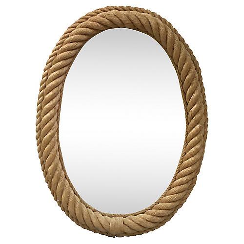 Large Rope Mirror Audoux Minet