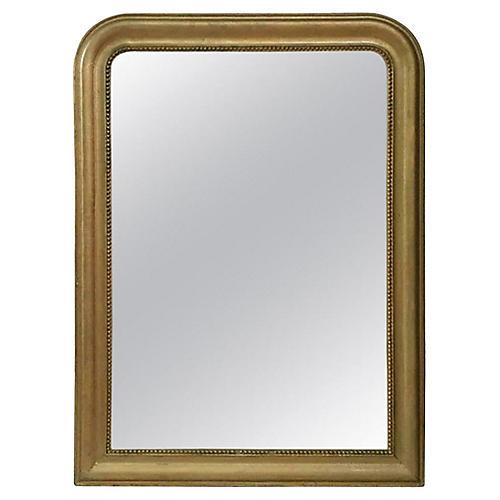 French Gilded Mirror Circa 1880