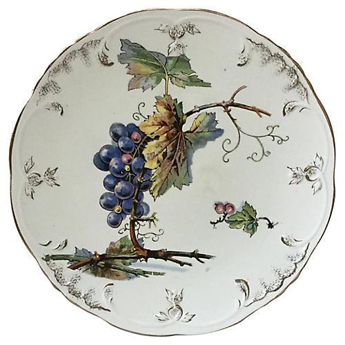 Grapes Plate Villeroy & Boch