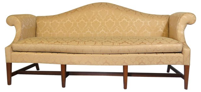 Camelback Sofa by Hickory
