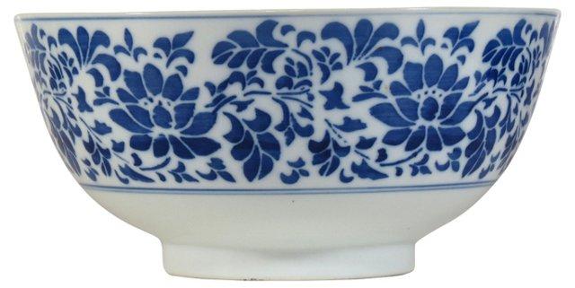 Blue & White Centerpiece Bowl