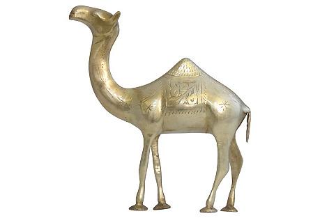 Solid Brass Camel
