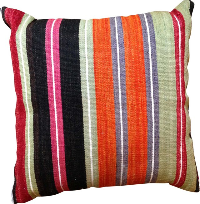 Kilim Stripe   Pillow