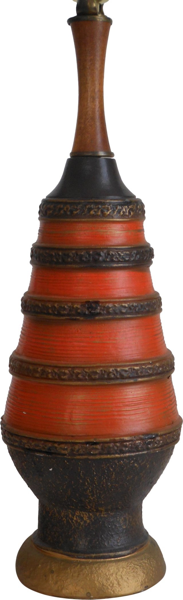 Lava Pottery Lamp