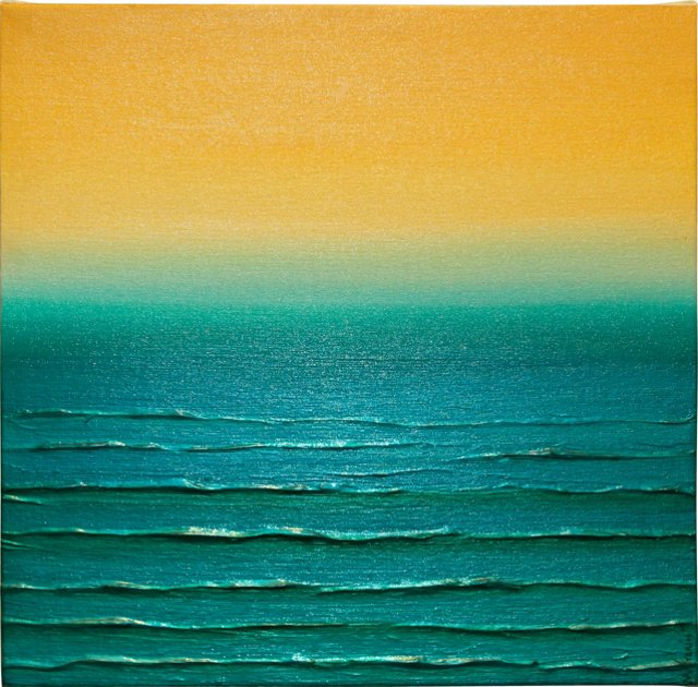 Turquoise Horizon by Michele Francis
