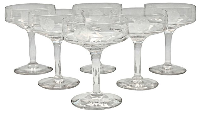 Glass Coupes, S/6